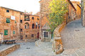 Th century village in tuscany italy Royalty Free Stock Photos