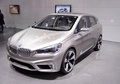 The th china guangzhou international automobile exhibition nov bmw concept active tourer on display at on november in Stock Photos