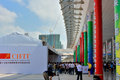 The th china international faire for investment and trade in xiamen china fair on september to Stock Photo