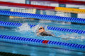 Th fina world championships barcelona czech republic baumrtova simona during the semifinal women s backstroke m at Royalty Free Stock Photography