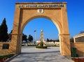 57th Infantry Regiment Memorial, Gallipoli Royalty Free Stock Photo