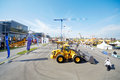 Th international specialized exhibition moscow may of construction equipment and technologies at the Royalty Free Stock Photography