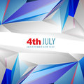 Th of july american independence day background Royalty Free Stock Photo