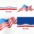 4th july american independence day background Royalty Free Stock Photo