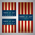 Th of july american independence day vector Stock Images