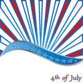 Th of july background vector Stock Photo