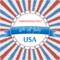 Th of july background vector Stock Photos