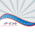 Th of july background vector Royalty Free Stock Images