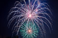4th of July - Fireworks Display Royalty Free Stock Photo