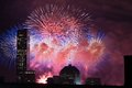 4th of July Fireworks Royalty Free Stock Photo