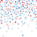 4th of July - Independence day celebration confetti background. vector illusctration Royalty Free Stock Photo