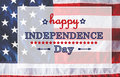 4th of July message Royalty Free Stock Photo