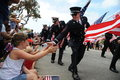 4th of July Parade Huntington Beach CA USA Royalty Free Stock Photo