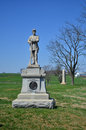 Th monument d infanterie de la pennsylvanie champ de bataille national d antietam le maryland Photos stock