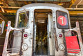Th street train yard van cortlandt yard bronx new york january for maintenance of trains Royalty Free Stock Photography