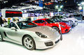 The th thailand international motor expo nonthaburi november porsche boxster car on display at on november in nonthaburi Stock Photo
