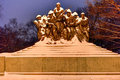 107th United States Infantry Monument - New York Royalty Free Stock Photo