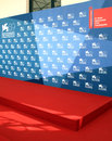 Th venice film festival the red carpephoto callt area during the on september in italy Stock Photos