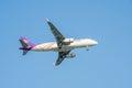 Thai airways plane thailand march from suvarnabhumi airport Royalty Free Stock Image