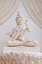 Thai angel statue Royalty Free Stock Photo