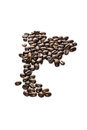 Thai arabica coffee bean Stock Photos