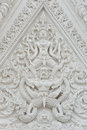 Thai art stucco so beautiful Stock Image