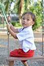 Thai baby Royalty Free Stock Photos