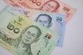 Thai banknote Royalty Free Stock Photo