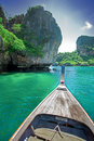 Thai boat tour Royalty Free Stock Photo