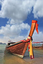 Thai boat for tourists Royalty Free Stock Photo