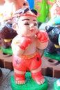 Thai Boxer Statue