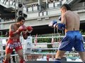 Thai Boxing Match Royalty Free Stock Image