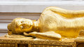 Thai Buddha Golden Royalty Free Stock Photography