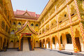 Thai buddhist traditional palace in xishuangbanna china Stock Photography