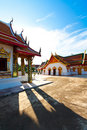 Thai buddist temple Royalty Free Stock Image