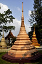 Thai Chedi Stock Photography