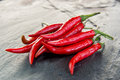 Thai Chillies Royalty Free Stock Photo