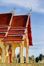 Thai Church Royalty Free Stock Photography