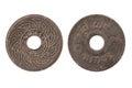 2469 thai coin Royalty Free Stock Photo