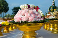 Thai confection for offerings. Royalty Free Stock Photo