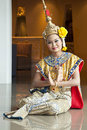 Thai Cultural Show Royalty Free Stock Image