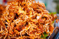 Thai deep fried crabs Royalty Free Stock Photo