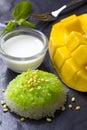 Thai Dessert - Sticky Rice with Mango
