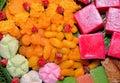 Thai desserts delicious Royalty Free Stock Photos