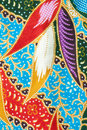 Thai fabric pattern Stock Images