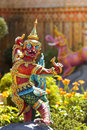 Thai Fairy Tales Creature, Himmapan animals statue Stock Images