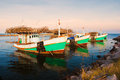 Thai fishing boat Stock Images
