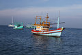 Thai fishing schooner Royalty Free Stock Photo