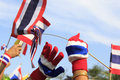 Thai Flag Royalty Free Stock Photo