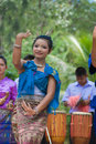Thai folk dance Stock Photography